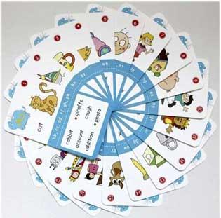 english flashcards