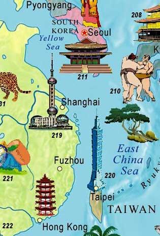 kids children english world map