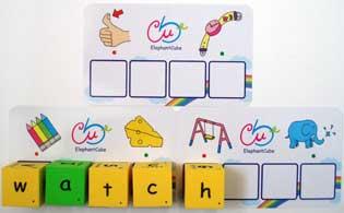alphabets spelling dice abc cubes